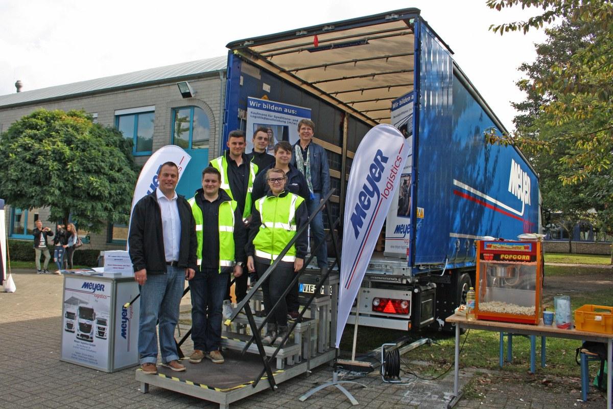 Meyer logistics ausbildung bewerbung info truck